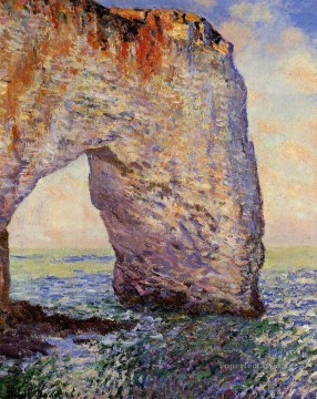 Claude Monet Painting - The Manneport near Etretat Claude Monet